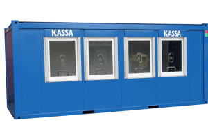 20ft Kassa Cabin container - NEW Kwaliteit