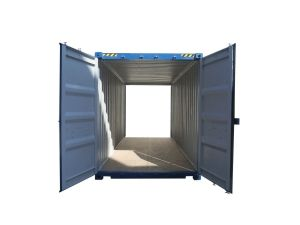 20ft High Cube Double door container - Nieuw